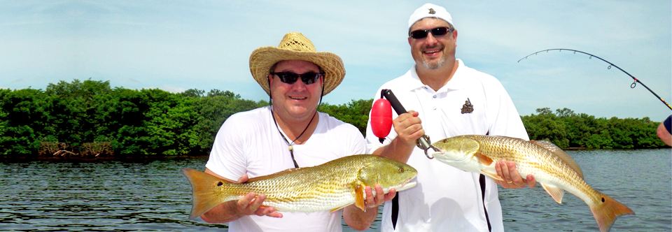 Tampa Bay Redfish Charter