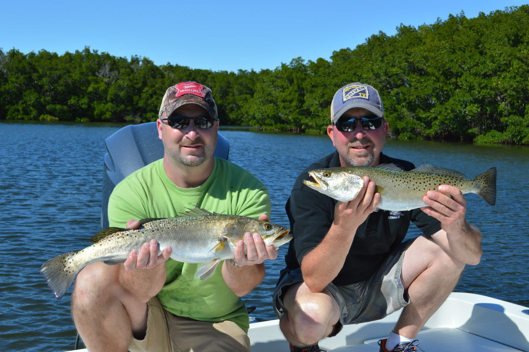 Captain mike gore tampa fishing charters for Tampa fishing charters