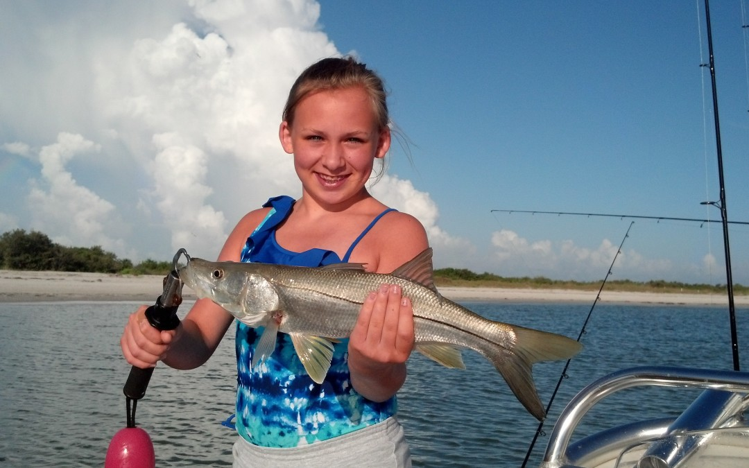 Tampa Bay Fishing for snook