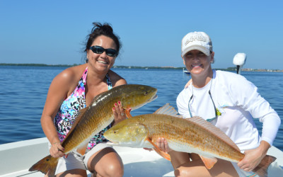 St. Petersburg double Redfish