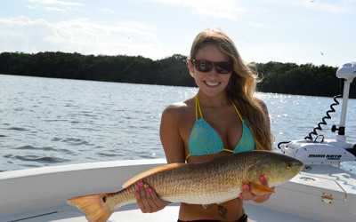 Shannon Tampa Bay Redfish Charter